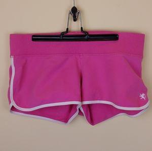 Express Pink Workout Shorts Size Medium